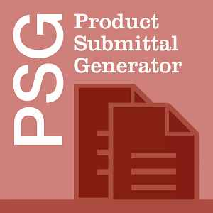 Product Submittal Generator