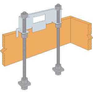 Strong-Wall® High-Strength Wood Shearwall Anchor Bolt Templates